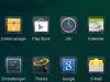 Allview V1 Viper S: Installierte Apps (1/3)