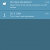 Asus ZenFone 5: Zu Beginn mussten 36 Apps aktualisiert werden