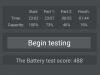 Avus A57: AnTuTu Battery Tester - 2:42h