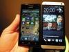HTC One - Größenvergleich mit dem Huawei Ascend P1