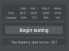 Huawei Ascend G525 - AnTuTu Battery Tester Ergebnis