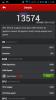 Huawei Ascend G610 Screenshot: AnTuTu v4: 13574 Punkte