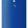 Moto G 4G LTE back blue
