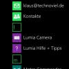 Nokia Lumia 530: Installierte Apps
