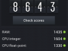Samsung Galaxy Grand Duos - AnTuTu Benchmarks Ergebnis: 8643 Punkte