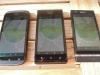 HTC One S, Huawei Ascend P1, Sony Xperia P im Sonnenschein