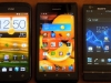 HTC One S, Huawei Ascend P1, Sony Xperia P