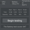 Wiko Birdy 4G: AnTuTu Battery Test - gute 3:36h