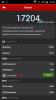 Wiko Getaway Screenshot - AnTuTu Benchmark 17204 Punkte