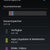 Wiko Rainbow 4G: Speicheraufteilung beim Start