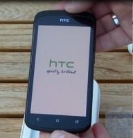 HTC One S booting