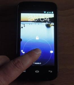 Mobistel Cynus F3 Lockscreen