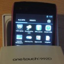 Alcatel One Touch 992D Unboxing