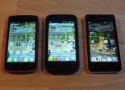 Vergleichstest Alcatel 992D Huawei Y300 Mobistel F3