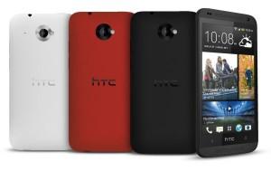 HTC Desire 601 weiß, rot, schwarz