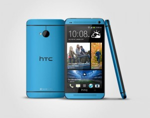 HTC One Vivid Blue