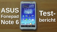 Asus Fonepad Note 6 FHD - Testbericht