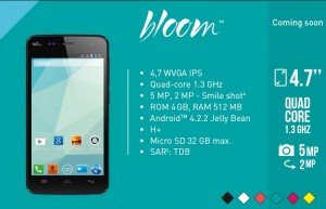 Wiko Bloom Flyer