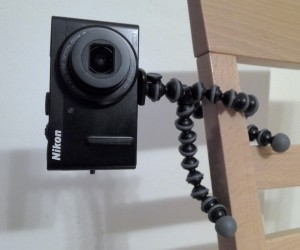 Gorillapod mit Nikon
