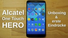 Alcatel One Touch Hero Unboxing