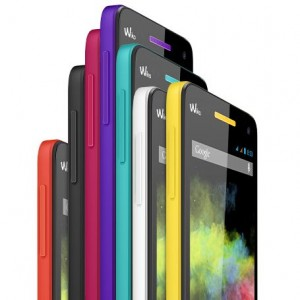 Wiko Rainbow in 7 Farben