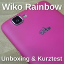 Wiko Rainbow Unboxing