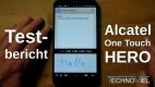 ^Alcatel One Touch Hero 8020D Testbericht