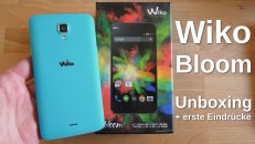 Wiko Bloom Unboxing