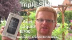 Acer Liquid E700 Triple SIM Unboxing