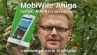 MobiWire Ahiga Unboxing