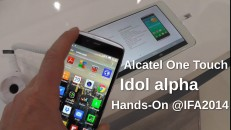 Alcatel Idol alpha Hands-On auf der IFA2014