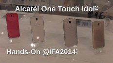 Alcatel One Touch Idol 2 Hands-On auf der IFA2014