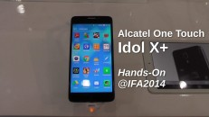 Alcatel One Touch Idol X+ Hands-On auf der IFA2014