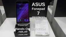 Asus Fonepad 7  Hands-On
