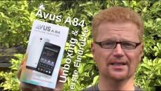 Avus A85 Unboxing und erste Eindrücke