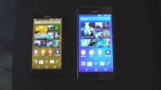 Sony Xperia Z3 ud Z3 Compact Hands-On