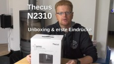 Thecus N2310 Unboxing