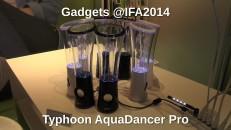 Typhoon AquaDancer Pro auf der IFA2014