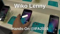 Wiko Lenny Hands-On auf der IFA 2014