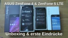 Asus Zenfone 4+5 LTE Unboxing