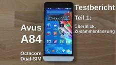 Avus A84 Testbericht Teil 1