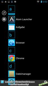 Individualisierung Screenshot 08 - Launcher 8