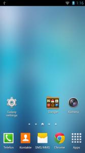Individualisierung Screenshot 09 - Galaxy Launcher