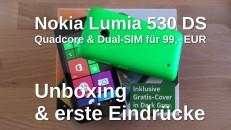 Nokia Lumia 530 DS Unboxing