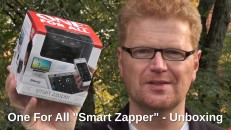 One For All Smart Zapper Unboxing mit Text