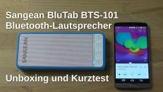 Sangean BluTab BTS 101 Unboxing und Kurztest