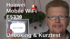 Huawei Mobile WiFi E5330 Kurztest