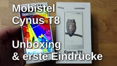 Mobistel Cynus T8 Unboxing