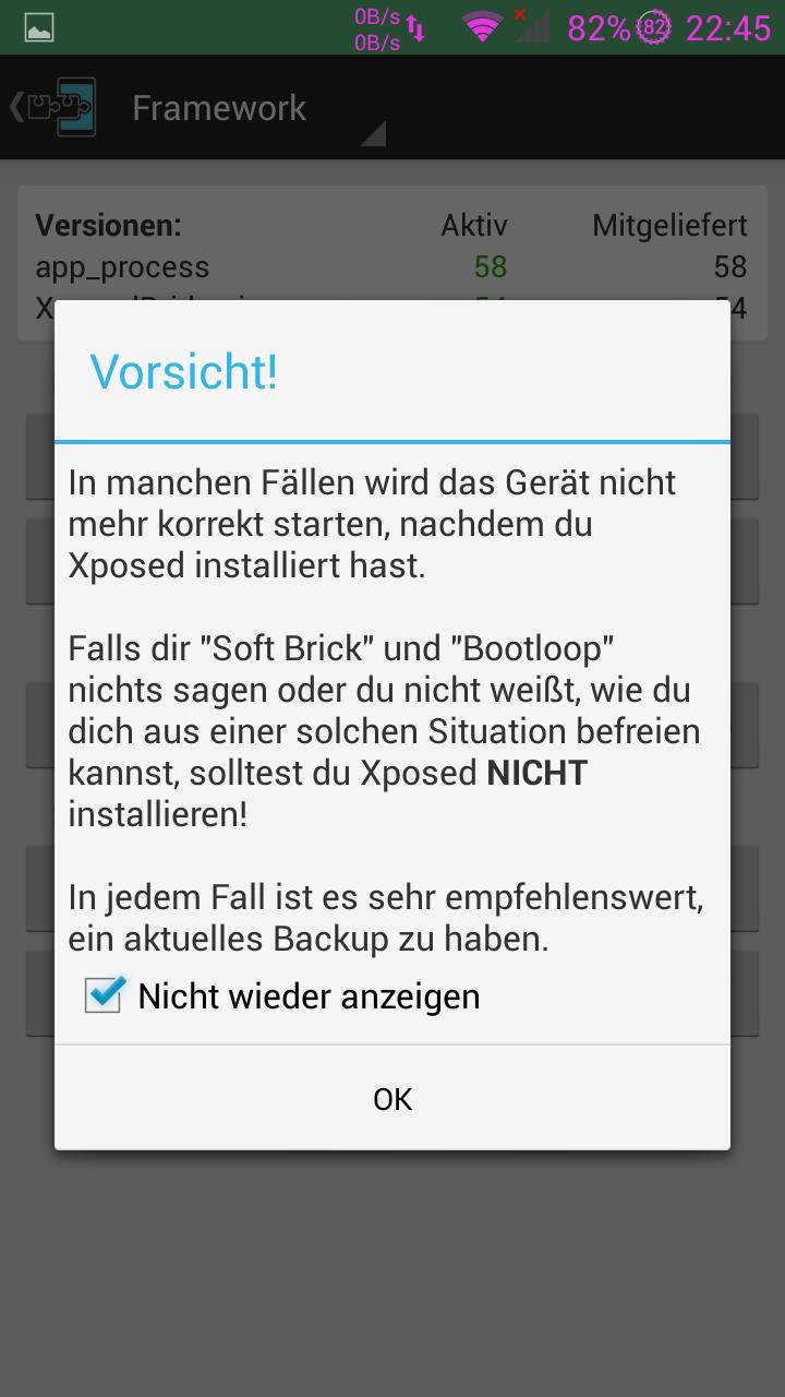 Xposed Installer 2.1.3.apk Laden Sie Google herunter