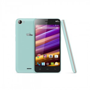 Wiko JIMMY Blau pastell / orange